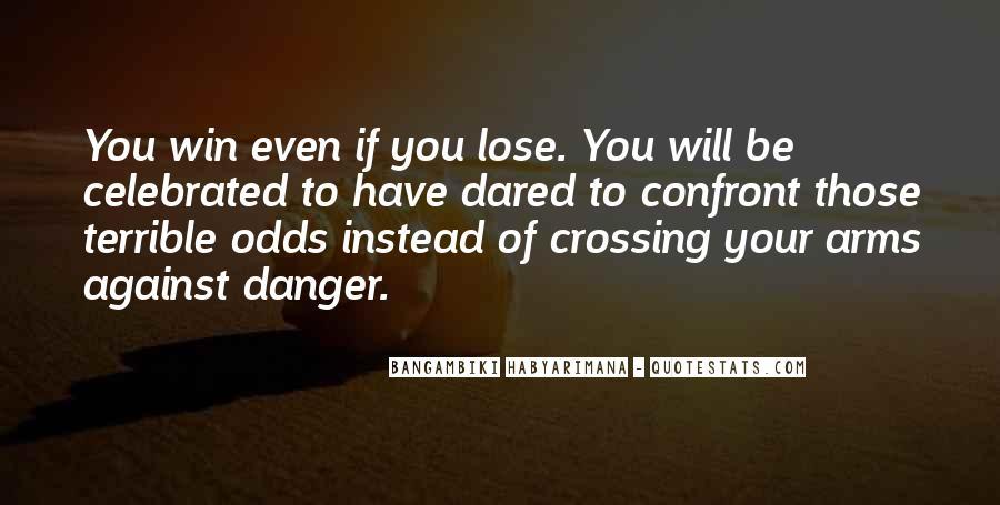 Bangambiki Habyarimana Quotes #552551
