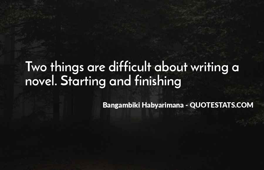Bangambiki Habyarimana Quotes #915201