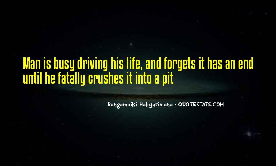 Bangambiki Habyarimana Quotes #923298