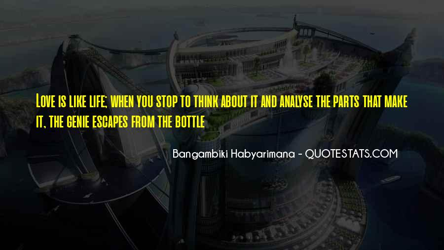 Bangambiki Habyarimana Quotes #961274