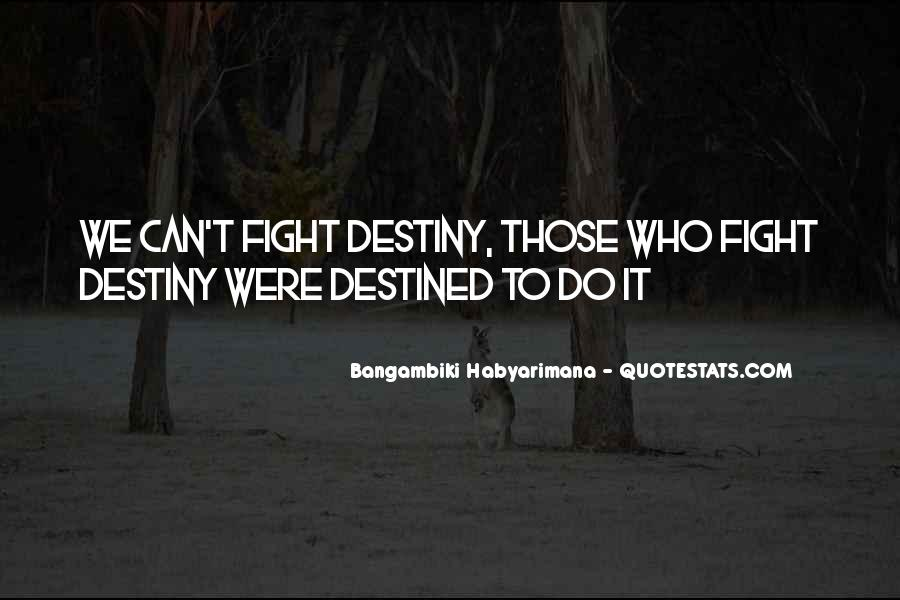 Bangambiki Habyarimana Quotes #998513