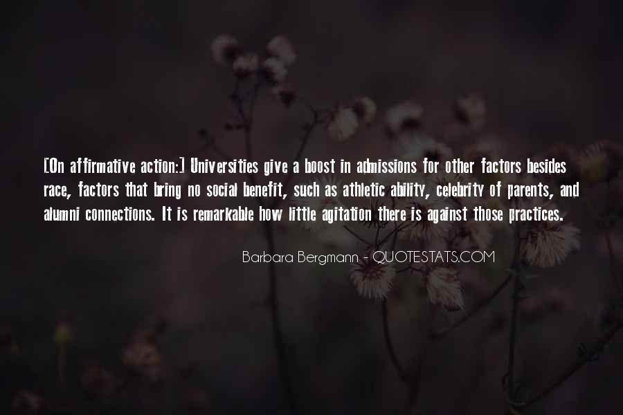 Barbara Bergmann Quotes #797351