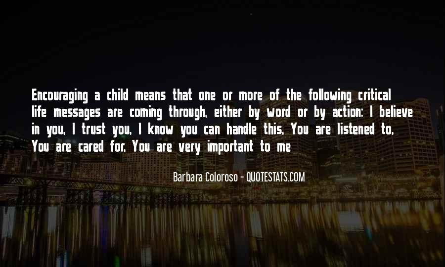 Barbara Coloroso Quotes #753252