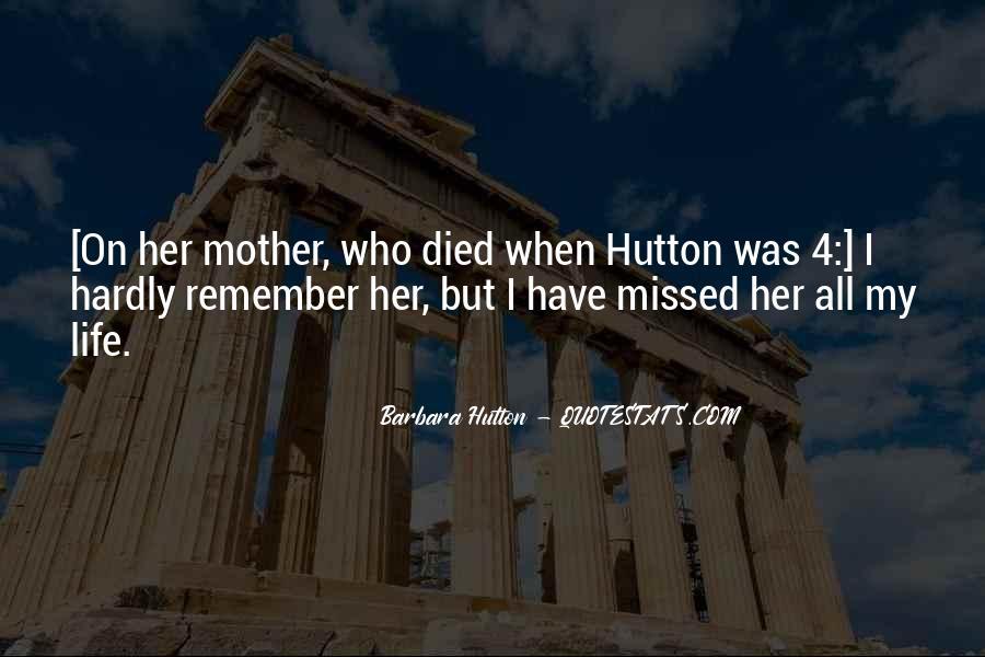 Barbara Hutton Quotes #99116