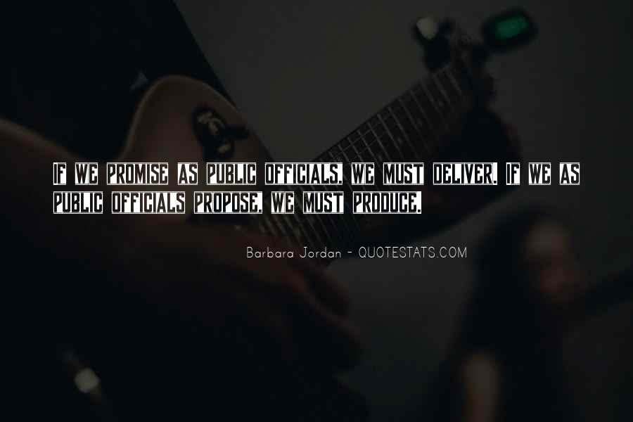 Barbara Jordan Quotes #1854924