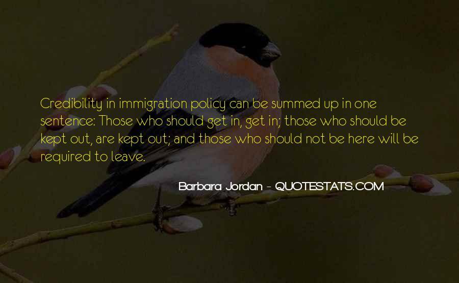 Barbara Jordan Quotes #327079
