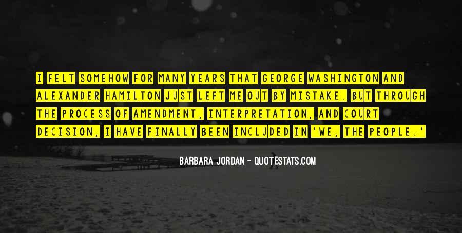 Barbara Jordan Quotes #405967
