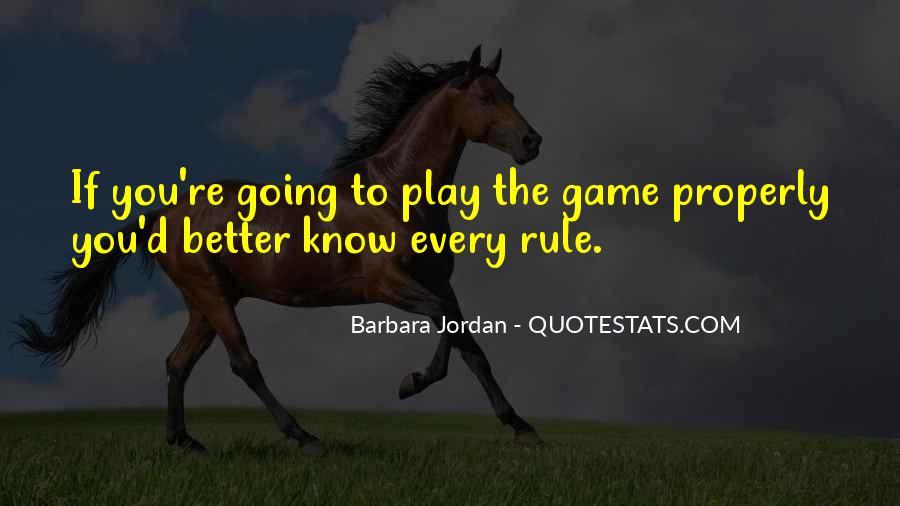 Barbara Jordan Quotes #589153