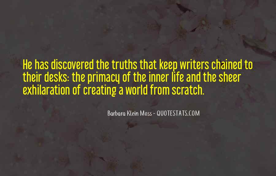 Barbara Klein Moss Quotes #106262