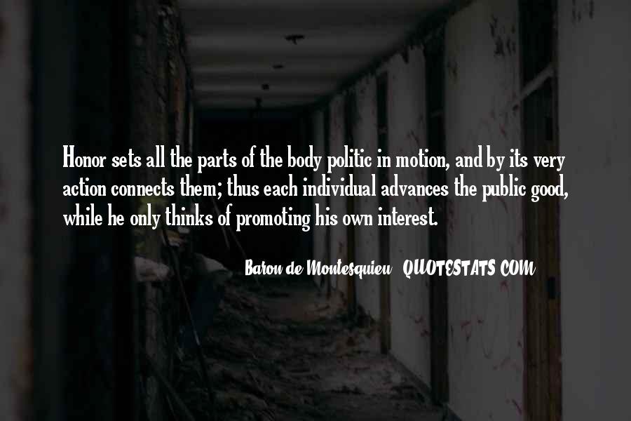 Baron De Montesquieu Quotes #111145
