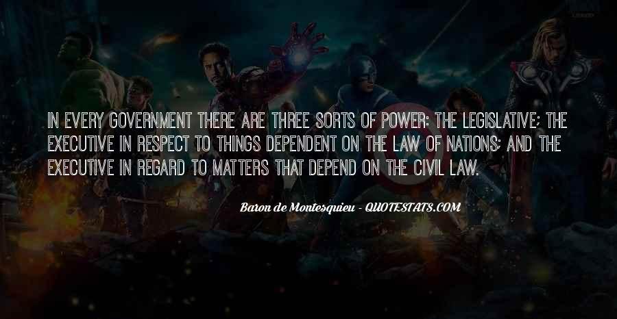 Baron De Montesquieu Quotes #1124391