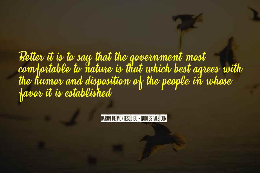 Baron De Montesquieu Quotes #1172760