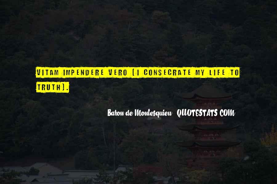 Baron De Montesquieu Quotes #1206304