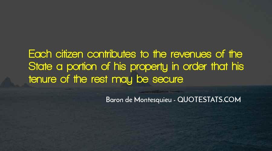 Baron De Montesquieu Quotes #1241616