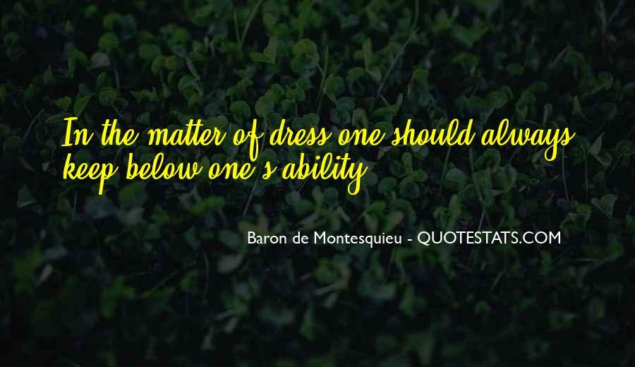 Baron De Montesquieu Quotes #1281530