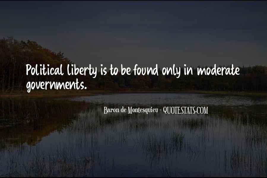 Baron De Montesquieu Quotes #1324515