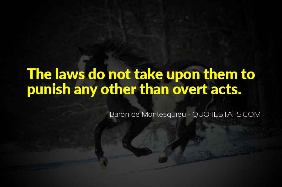 Baron De Montesquieu Quotes #1349600