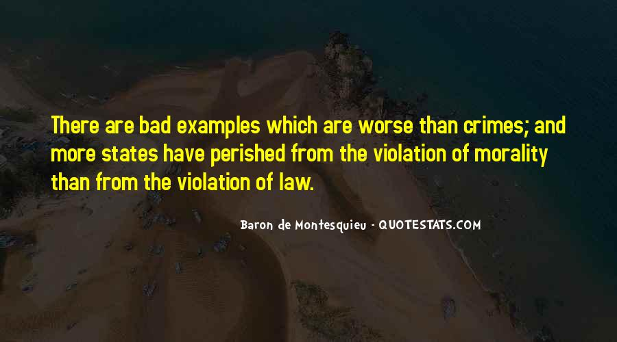 Baron De Montesquieu Quotes #1379668