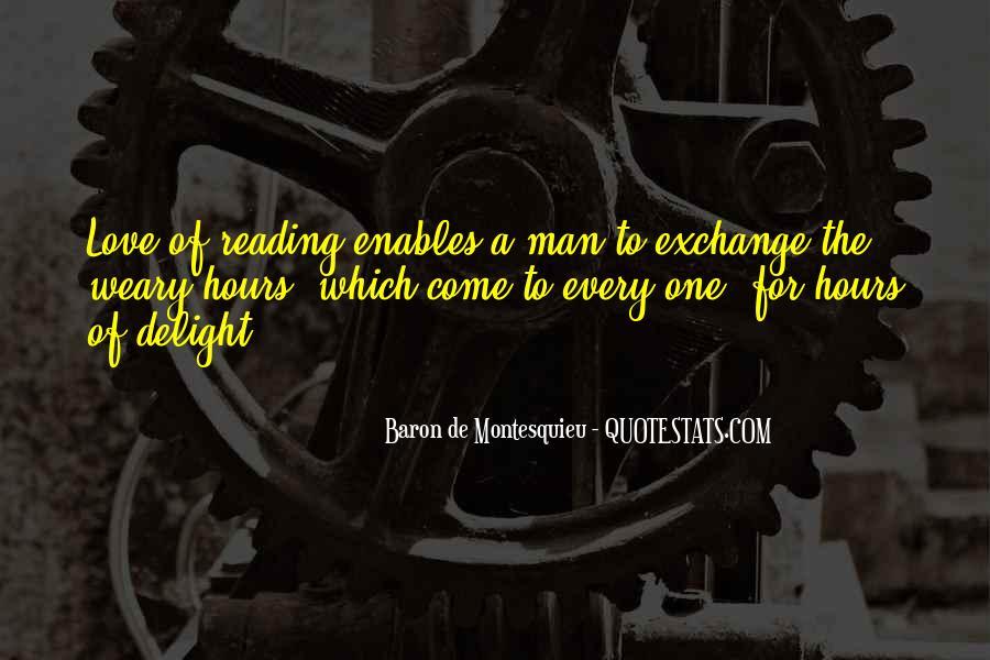 Baron De Montesquieu Quotes #1399728