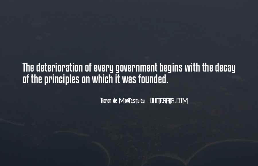 Baron De Montesquieu Quotes #1421725