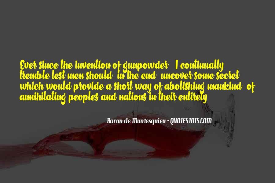 Baron De Montesquieu Quotes #1565664