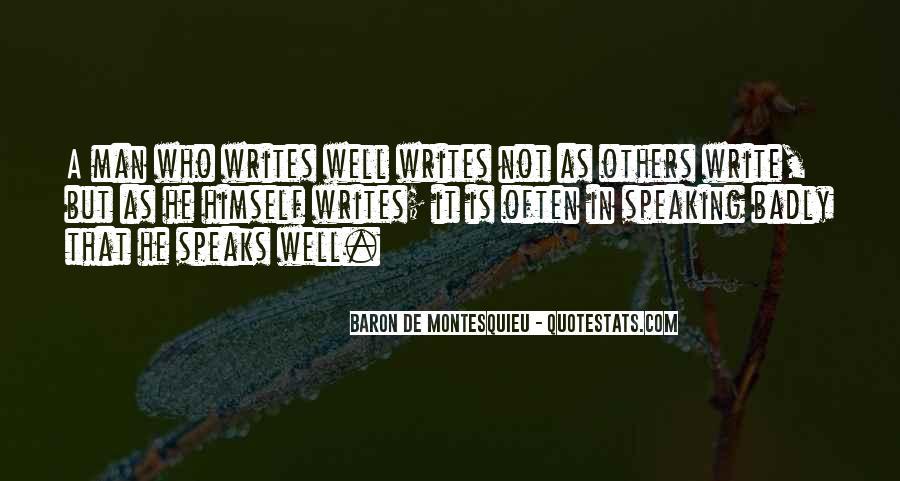 Baron De Montesquieu Quotes #1754421