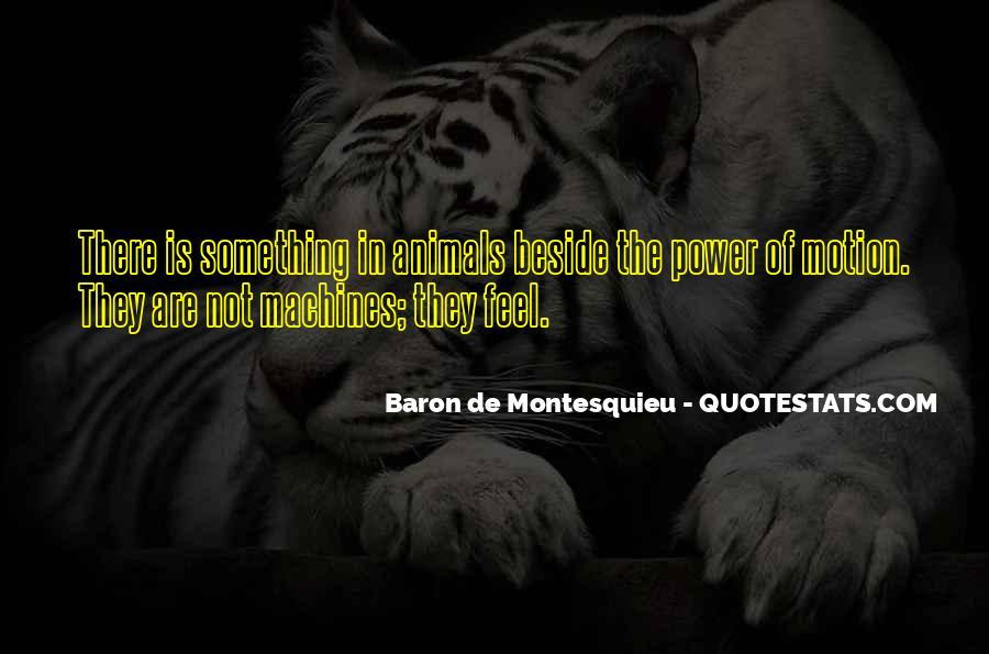 Baron De Montesquieu Quotes #1796534