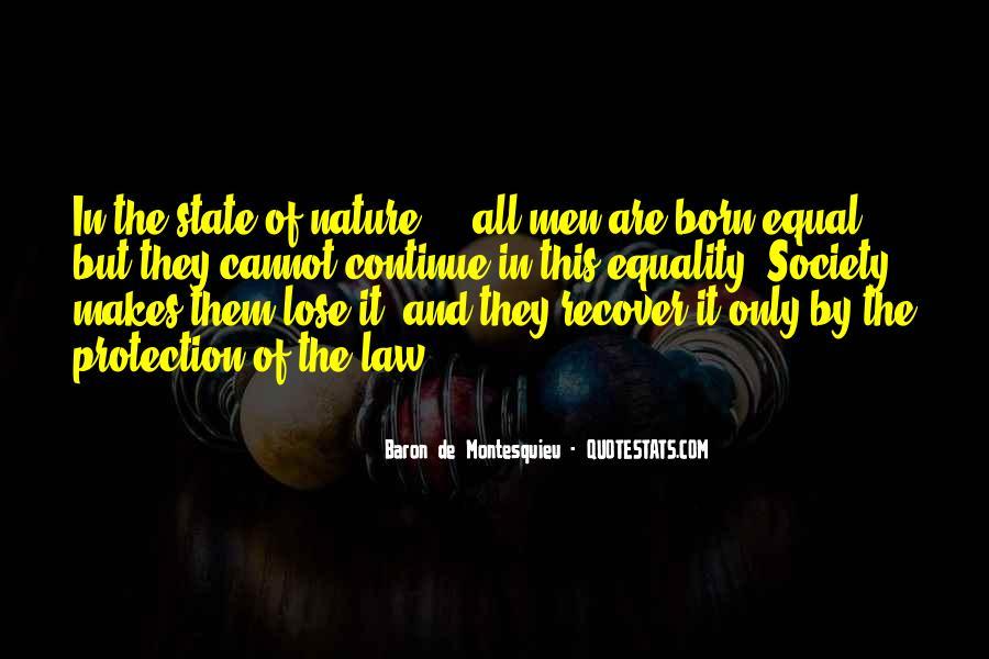 Baron De Montesquieu Quotes #1834790