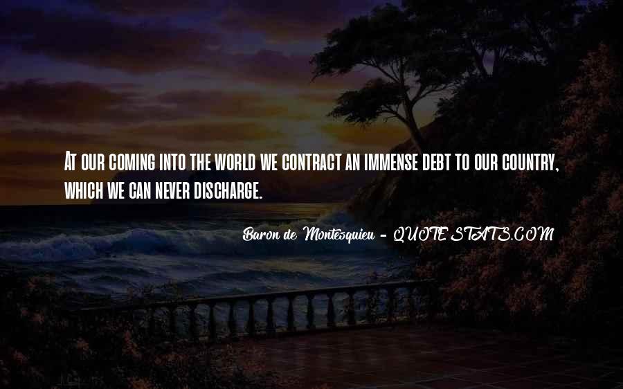 Baron De Montesquieu Quotes #191725