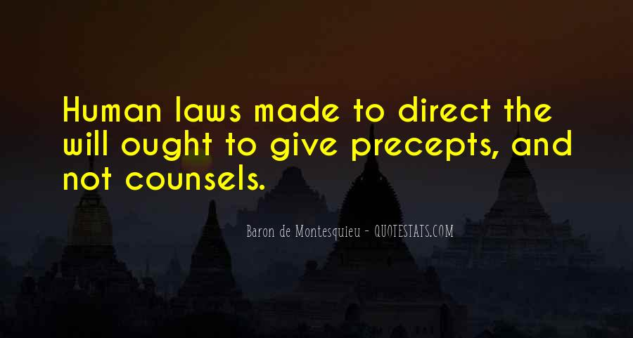 Baron De Montesquieu Quotes #219246