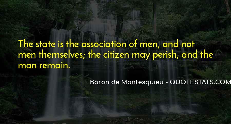 Baron De Montesquieu Quotes #21984