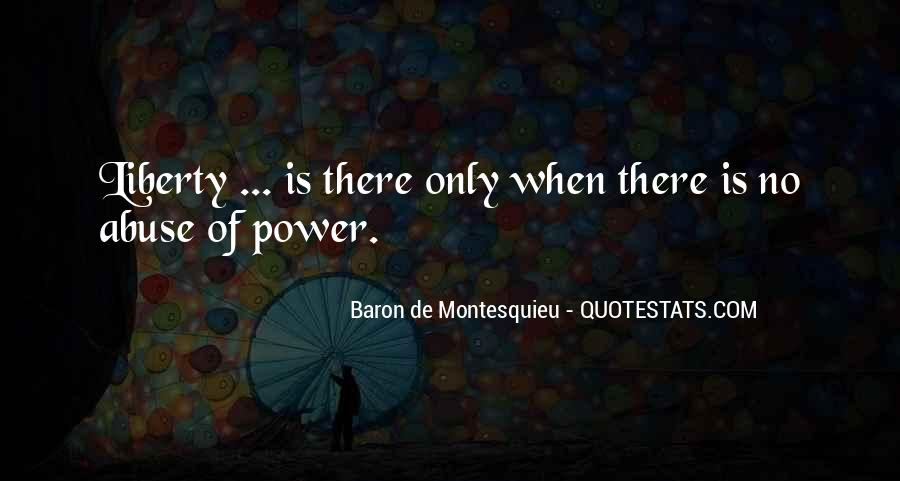 Baron De Montesquieu Quotes #258637