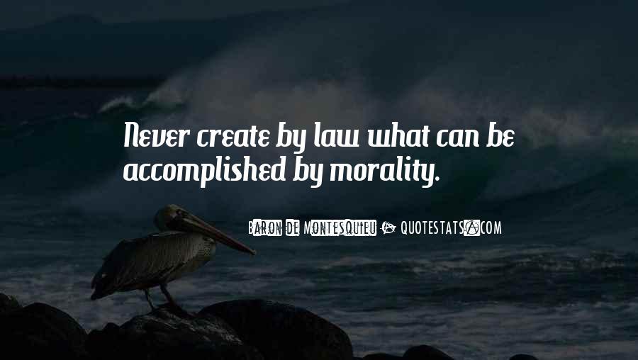Baron De Montesquieu Quotes #297551