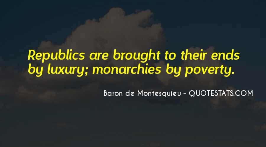 Baron De Montesquieu Quotes #359630