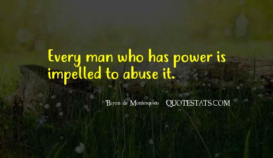Baron De Montesquieu Quotes #379226