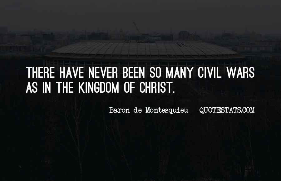 Baron De Montesquieu Quotes #434219