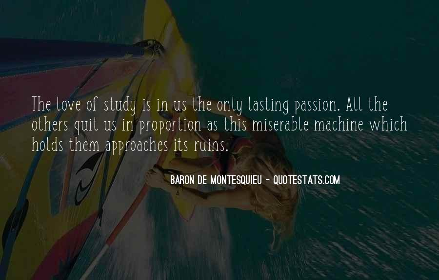 Baron De Montesquieu Quotes #55179