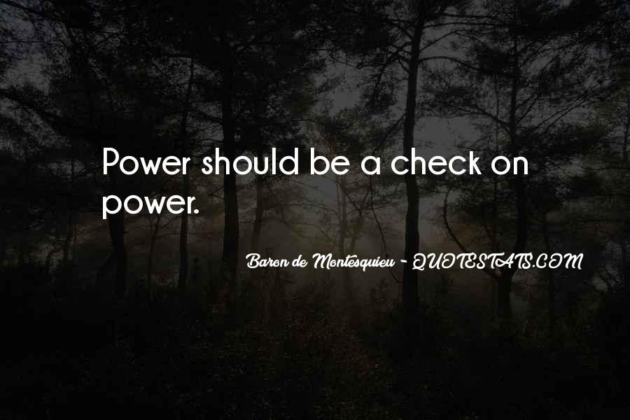 Baron De Montesquieu Quotes #562695