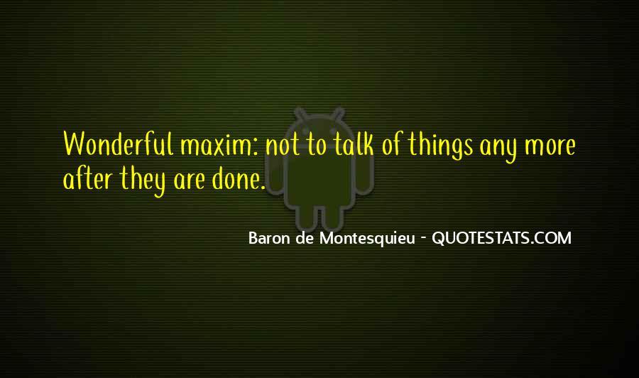 Baron De Montesquieu Quotes #611162