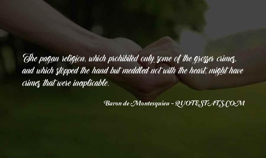 Baron De Montesquieu Quotes #800629