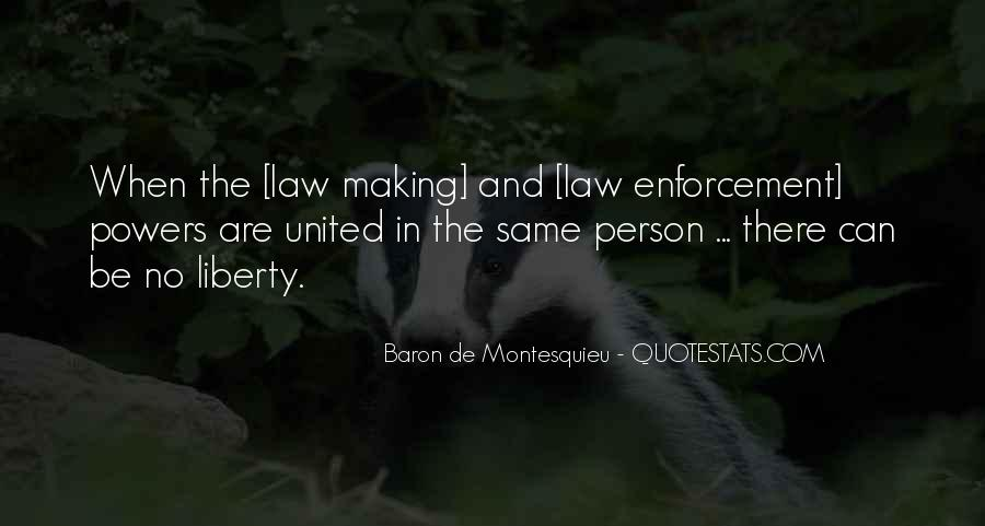 Baron De Montesquieu Quotes #80539