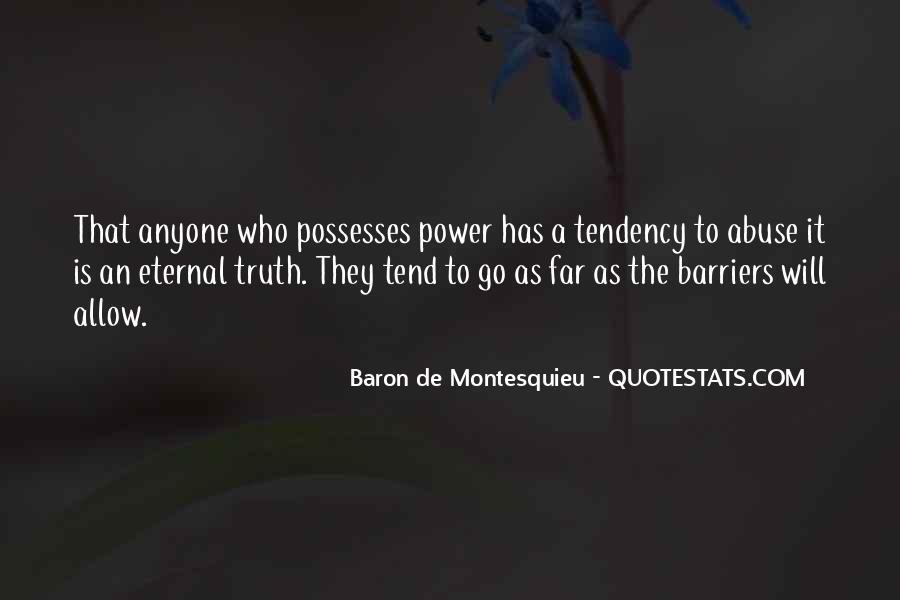 Baron De Montesquieu Quotes #806505