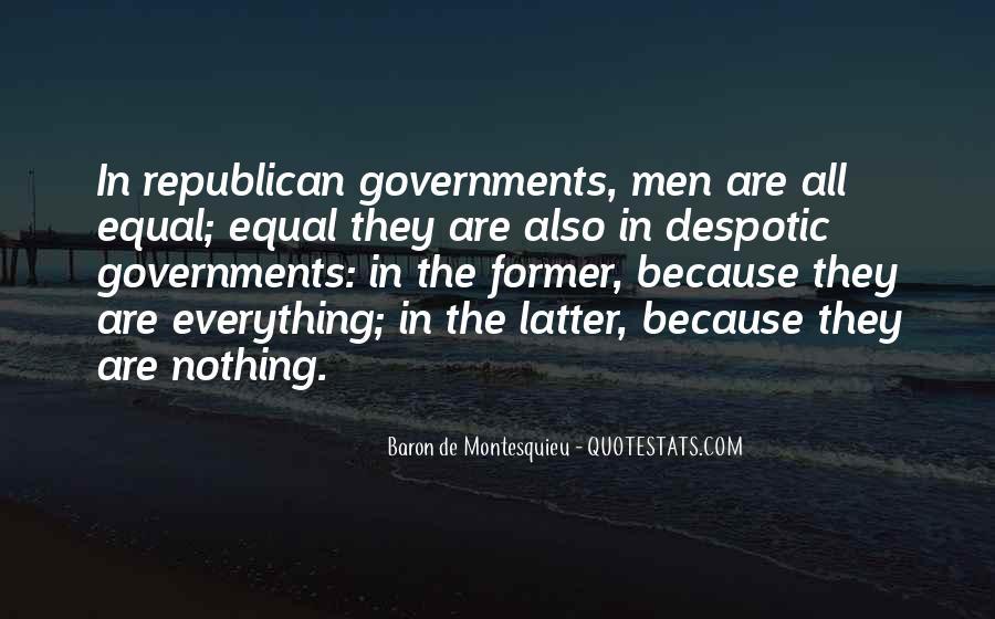 Baron De Montesquieu Quotes #823433