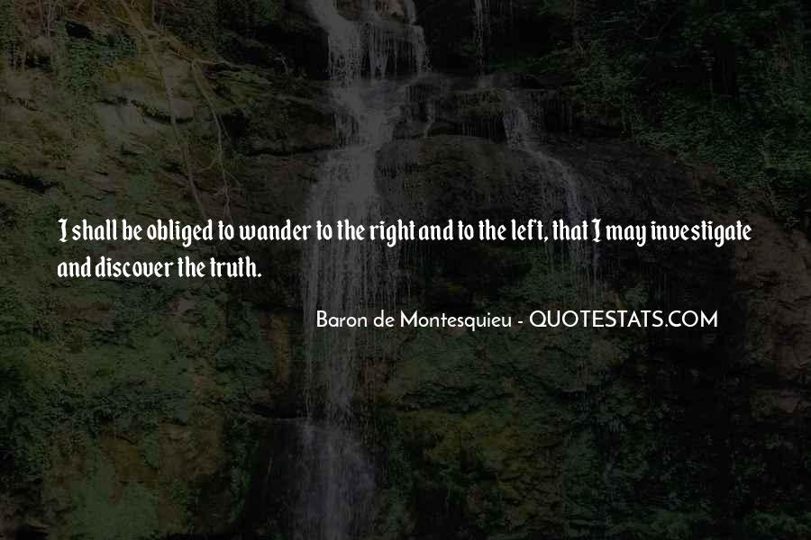 Baron De Montesquieu Quotes #860643