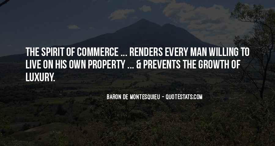 Baron De Montesquieu Quotes #981757