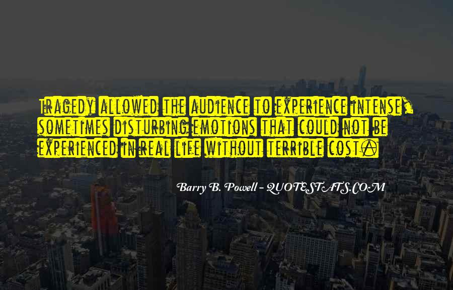 Barry B. Powell Quotes #1646074