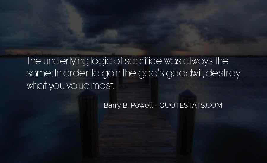 Barry B. Powell Quotes #773345