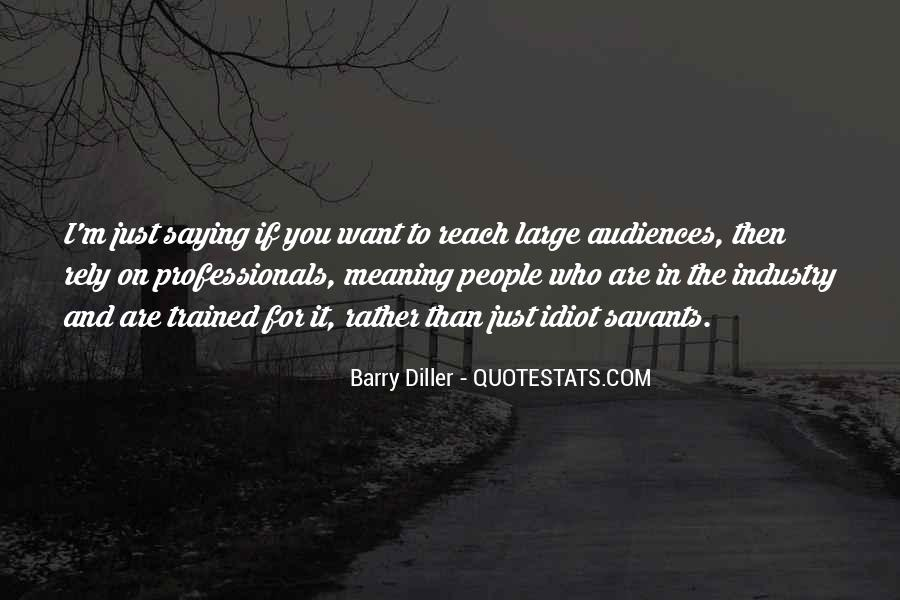 Barry Diller Quotes #141772