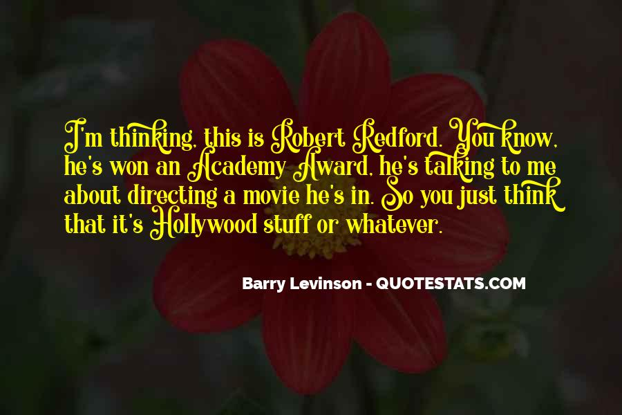 Barry Levinson Quotes #1150003
