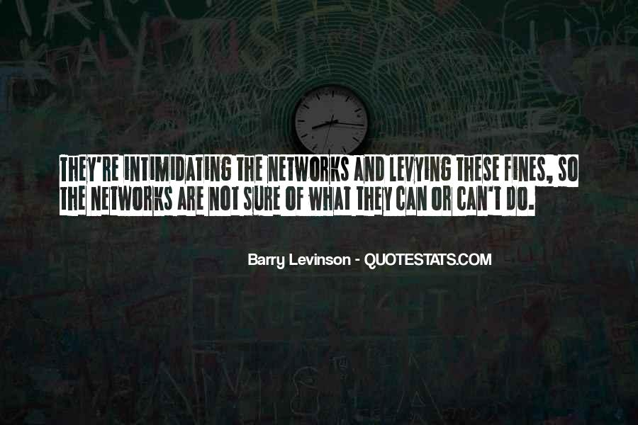Barry Levinson Quotes #1218010